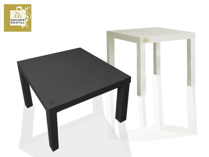 Noleggio tavoli exclusive rental