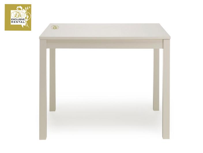 Noleggio tavoli exclusive rental for Tavolo bianco laccato