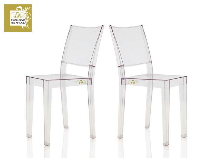 Noleggio sedie exclusive rental for Sedia kartell la marie