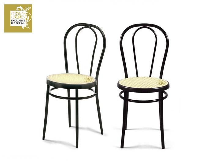 Noleggio sedie exclusive rental for Sedia antica thonet